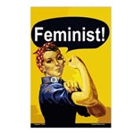 Rosie Feminist Postcards (Package of 8)
