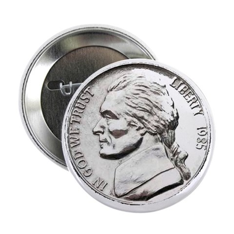 1985 Nickel  Hobbies 2.25 Button 10 pack by CafePress