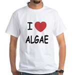 I heart algae White T-Shirt