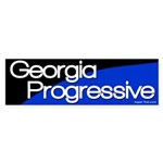 Georgia Progressive bumper sticker