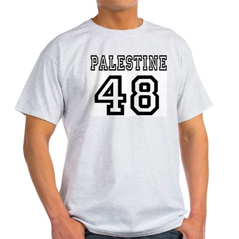Product Image of Palestine 48 Ash Grey T-Shirt