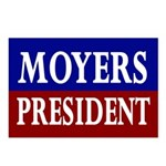Moyers for President (8 Postcards)