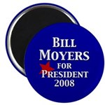 Bill Moyers for President (100 Magnets)