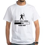 Archery Skills Loading White T-Shirt