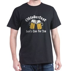 Naughty Oktoberfest Black T-Shirt