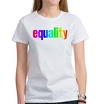 Rainbow Equality Women's T-Shirt