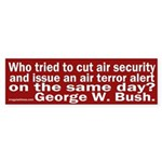 Cut Budget, Issue Alert Bumper Sticker