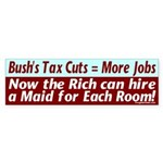 Bush's Jobs Plan Bumper Sticker