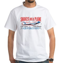 Real SoaP Anti-Bush White T-Shirt