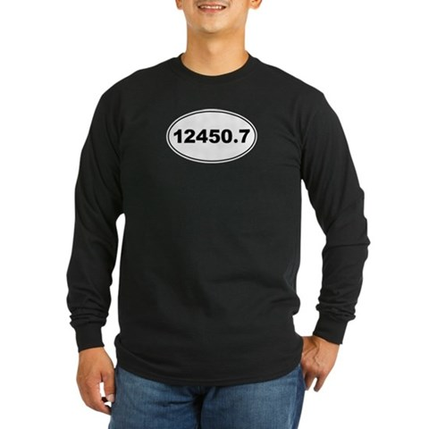 12450.7  Marathon Long Sleeve Dark T-Shirt by CafePress