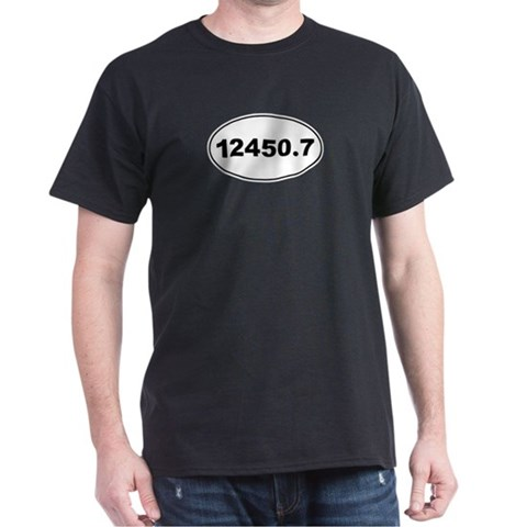 12450.7  Marathon Dark T-Shirt by CafePress