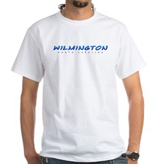 Wilmington, NC White T-Shirt