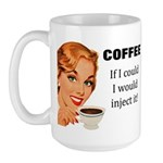 Coffee Junkie Large Mug
