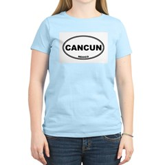 Cancun Women's Pink T-Shirt