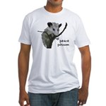 Peace Possum Fitted T-Shirt