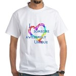 Love Awesomely Unique White T-Shirt