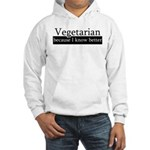 Vegetarian Because I Know Better