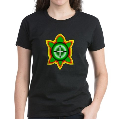 Product Image of SOUTHEASTERN TRIBAL TURTLE Women's Dark T-Shirt