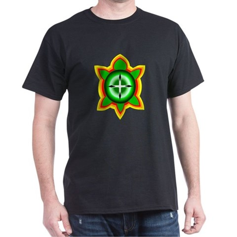 Product Image of SOUTHEASTERN TRIBAL TURTLE Dark T-Shirt