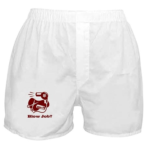 -Barbers Have Big Poles Funny Boxer Shorts by CafePress