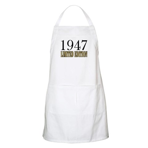 1947 BBQ  Humor Apron by CafePress