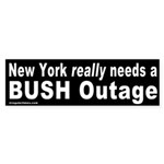 NY Needs a Bush Outage Bumper Sticker