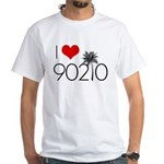 I Love 90210 White T-Shirt