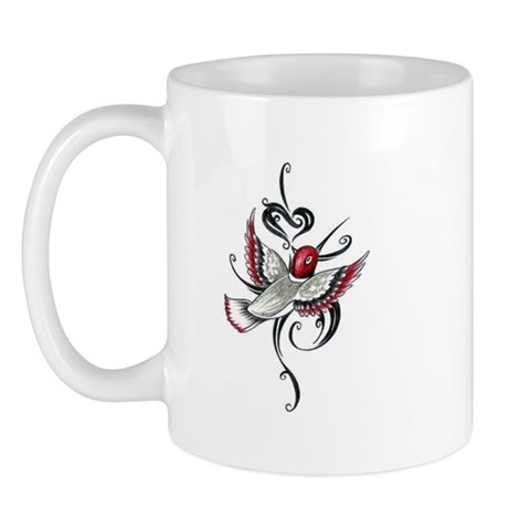 Hummingbird Tribal  Animals Mug by CafePress