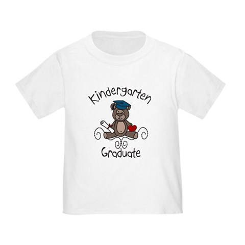 Kindergarten Graduate  Food Toddler T-Shirt by CafePress