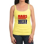 Had Enough? Vote Democratic! Jr. Spaghetti Tank