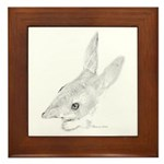 Artwork, Easter Bilby Framed Tile