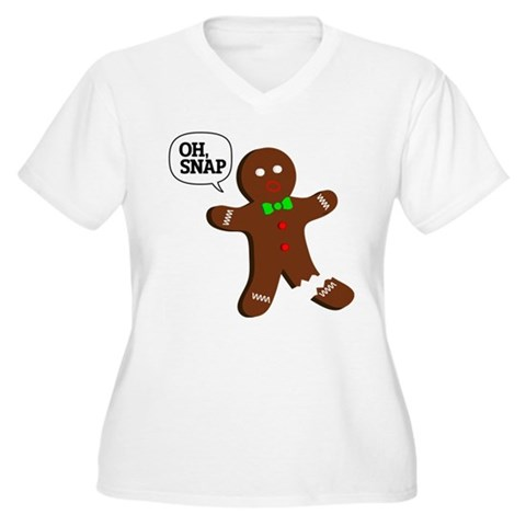 Product Image of Oh, Snap! Funny Gingerbread Christmas Gift Women's
