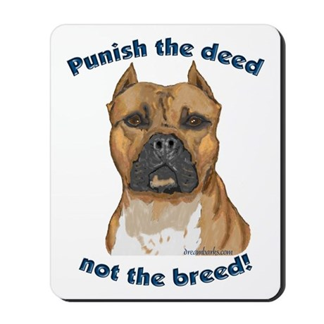 Staffy Anti-BSL Mousepad
