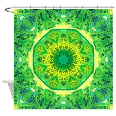 Spring Art Mandala  Art Shower Curtain by CafePress