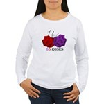 Two Roses: I have Cystic Fibrosis T-Shirt
