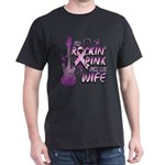 I'm Rockin' Pink For My Wife T-Shirt