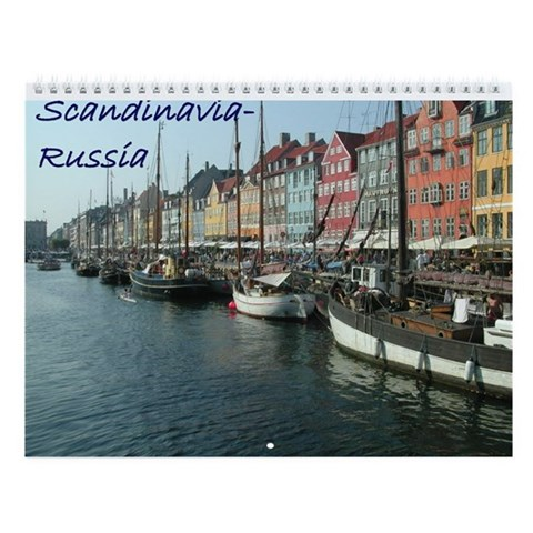Scandinavia-Russia  Sweden Wall Calendar by CafePress