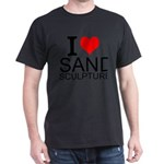 I Love Sand Sculptures T-Shirt
