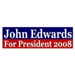 John Edwards 2008 (bumper sticker)