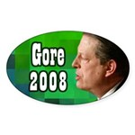 Al Gore for President Oval Bumper Sticker