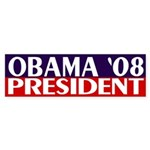 Obama President '08 (bumper sticker)