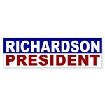 Bill Richardson for President bumper sticker
