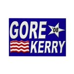 Gore-Kerry 2008 Refrigerator Magnet