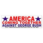 America Coming Together Bumper Sticker