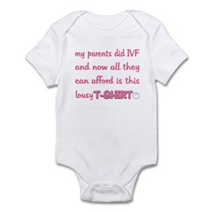 IVF Lousy T-shirt Infant Bodysuit