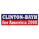 Clinton-Bayh 2008 (bumper sticker)