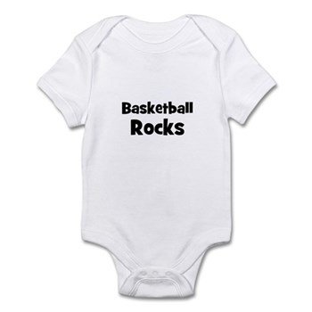 BASKETBALL Rocks Infant Creeper