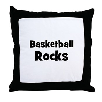 BASKETBALL Rocks Pillow