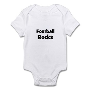 FOOTBALL Rocks Infant Creeper