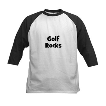 GOLF Rocks Kids Baseball Jersey